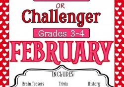 February Early Finisher Packets are here! {Giveaway}