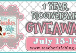 My 1 Year Blogiversary Mega Giveaway starts today!