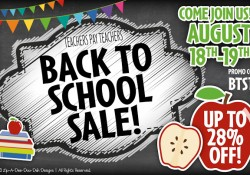 TPT Back to School Sale Started today!