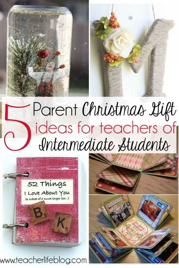 Elementary Classroom Ideas ~ Parent christmas gift ideas for upper elementary classrooms