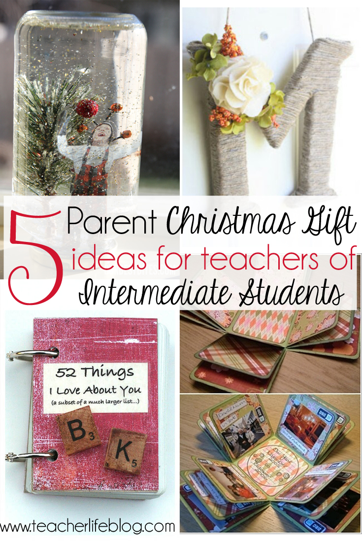 5 Parent Christmas Gift Ideas for Upper Elementary Classrooms!