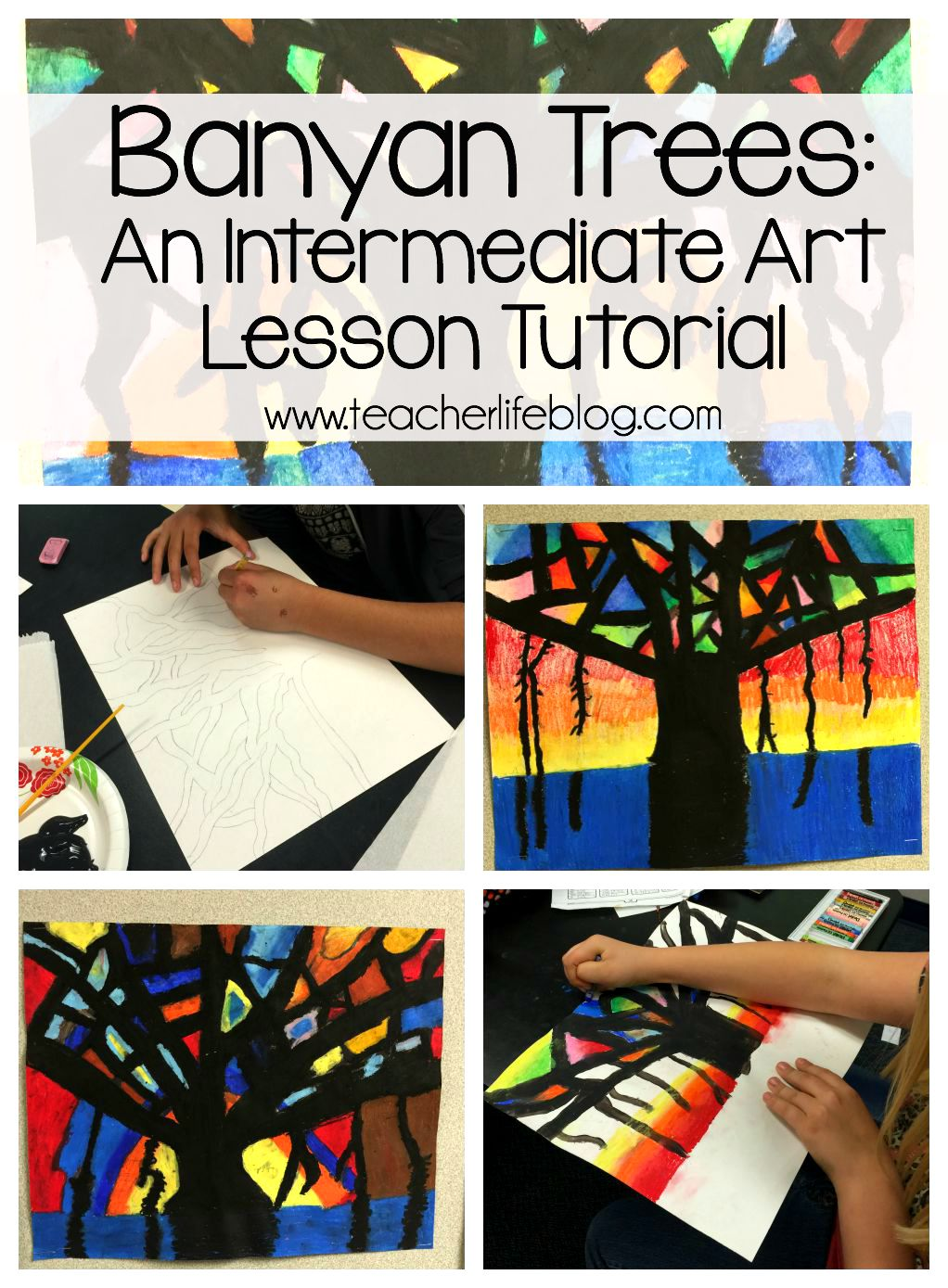 Banyan Tree Art Lesson